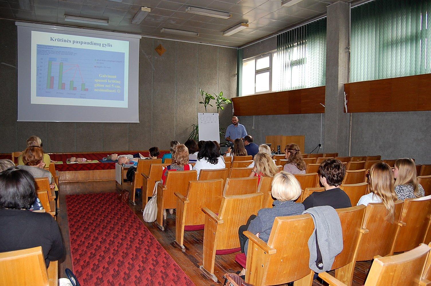 Projekt LT-PL-1R-042: szkolenia w partnerskim szpitalu w Alytusie (Litwa)