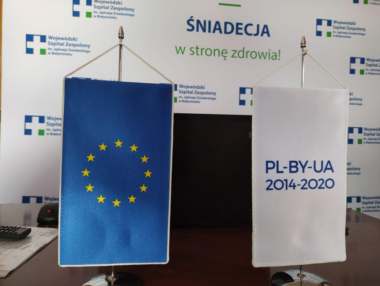 """""""Poprawa transgranicznej opieki zdrowotnej w zakresie chorób krążenia i intensywnej opieki medycznej w regionie Białegostoku i Mińska"""" - konferencja otwierająca projekt."""