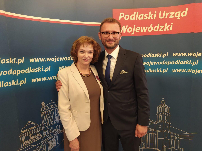Dr Agnieszka Janke otrzymała Srebrny Krzyż Zasługi